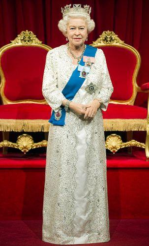 الملكة في متحف الشمع مدام توسو