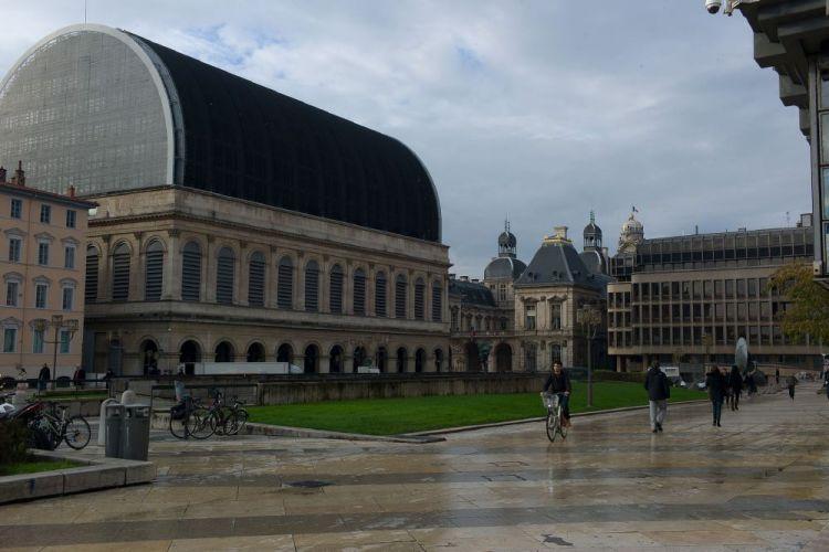 دار الأوبرا في ليون - فرنسا