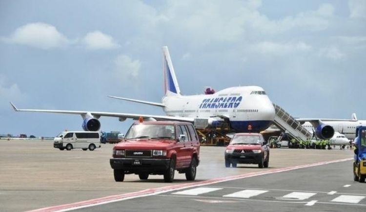 مطار ماليه الدولي في جزر المالديف