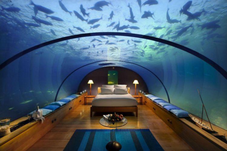 غواصة الحوت من الداخل ماليه - جزر المالديف