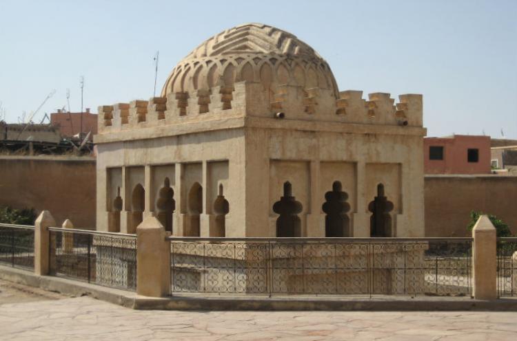 القبة المرابطية في مراكش