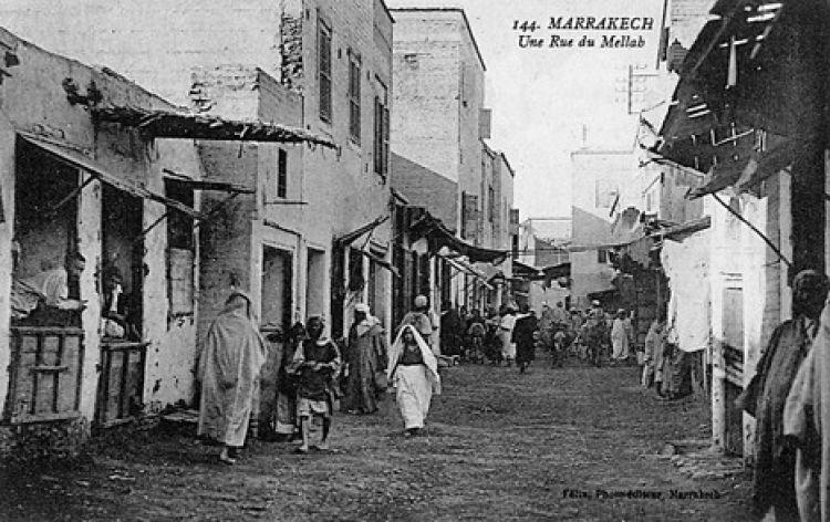 الحي اليهودي بالمدن المغربية العتيقة