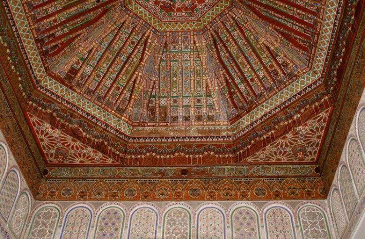 فسيفساء قصر الباهية في مراكش