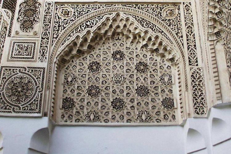 قصر الباهية في مراكش - المغرب