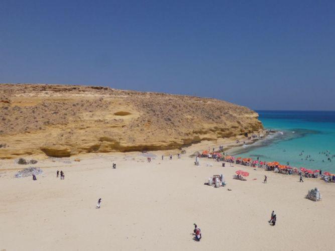 الساحل الشمالي في مطروح - مصر