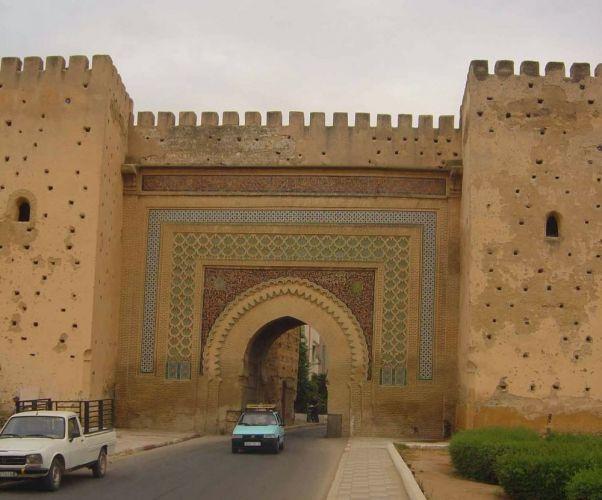 المدرسة البوعنانية في مكناس - المغرب
