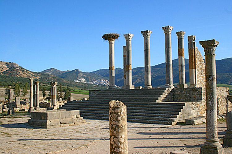 مدينة وليلي الأثرية في مكناس - المغرب