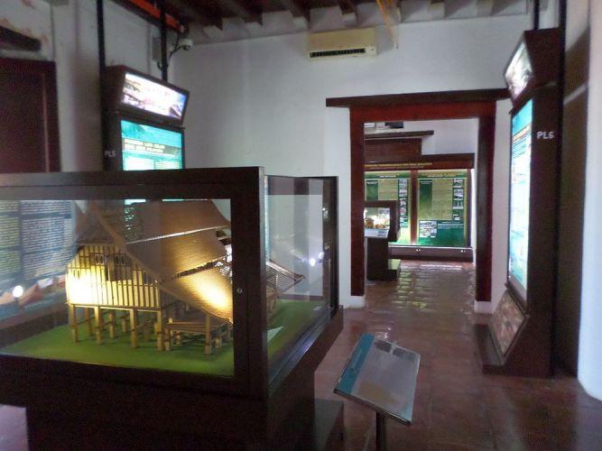 متحف العمارة الماليزية من الداخل