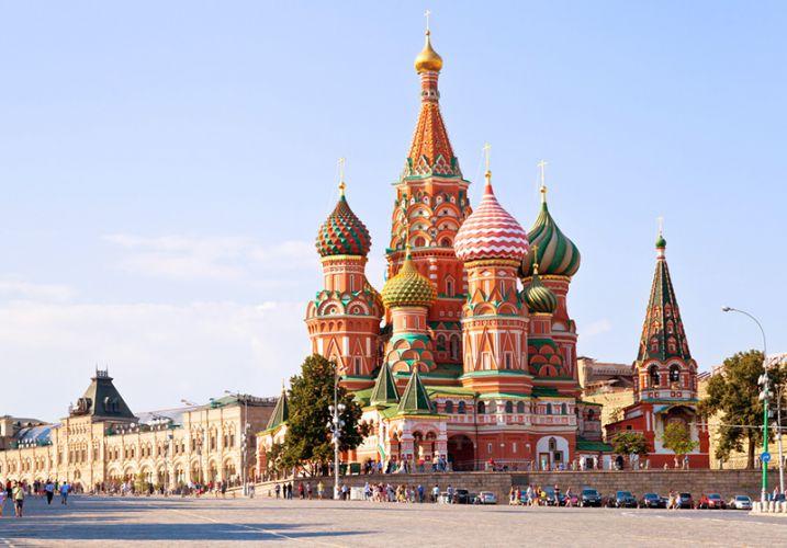 كاتدرائية سانت باسيل في موسكو