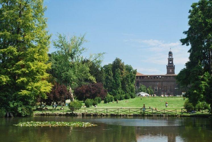 حديقة سيمبيوني في ميلانو