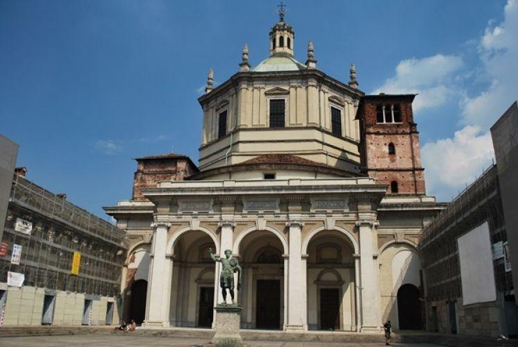 كنيسة القديس لورينزو في ميلانو