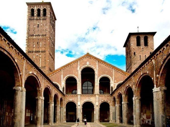 كنيسة سانت امبروجيو