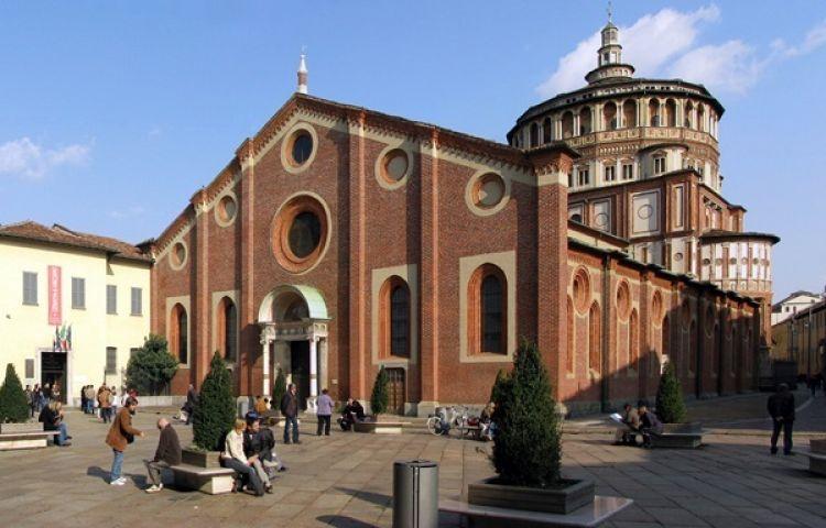 كنيسة سانتا ماريا ديلي غراسي في ميلانو