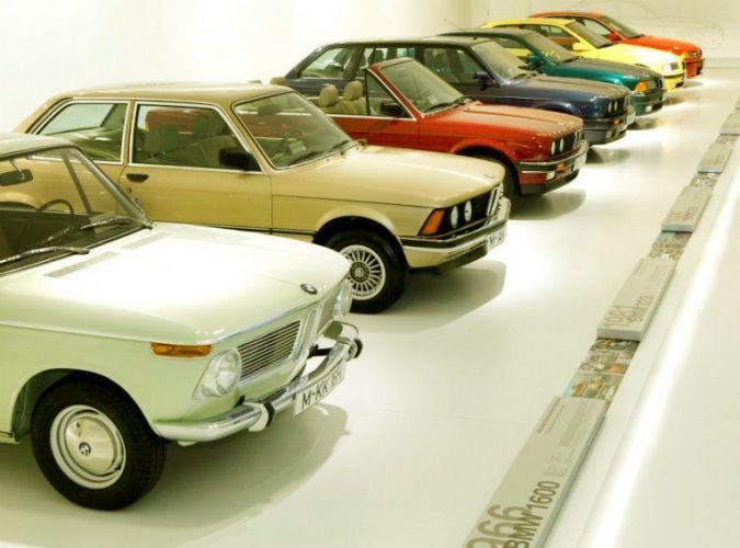 من داخل متحف BMW في ميونخ