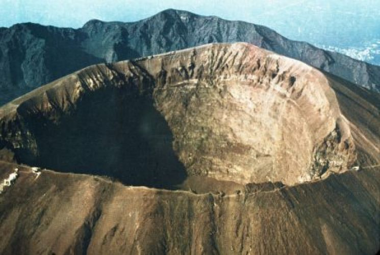 جبل فيزوف في نابولي