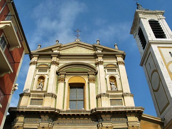 كاتدرائية سانت ريبيرا - Cathedrale Sainte Reparate في نيس