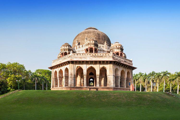 حدائق لودي في نيودلهي - الهند