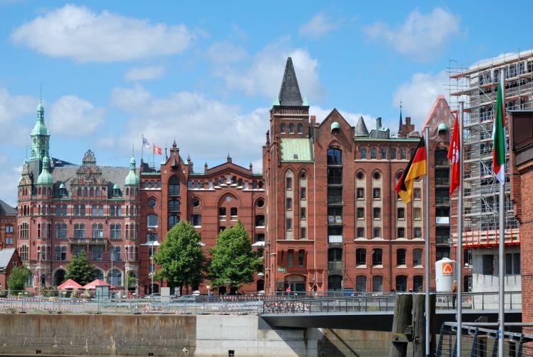 مدينة التخزين Speicherstadt