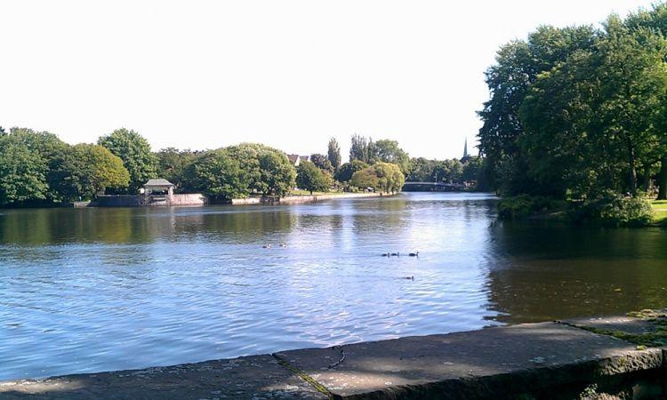 بحيرة الالستر في هامبورغ