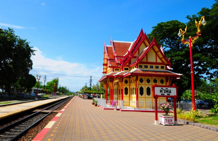 Railway station in Hua Hin - Thailand
