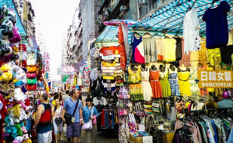 سوق السيدات في هونج كونج