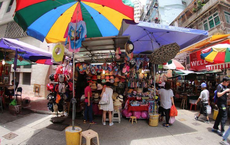 سوق السيدات في هونج كونج - الصين