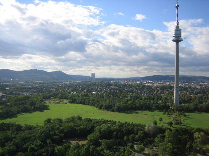 برج الدانوب فيينا