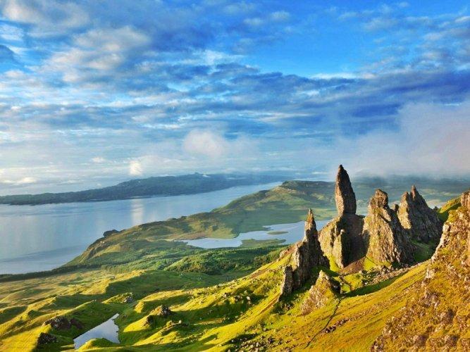 جبال جزيرة سكاي