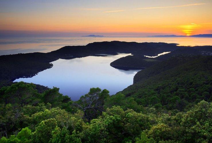 جزيرة ملجيت كرواتيا