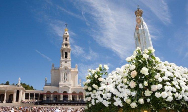 كاتدرائية الثالوث المقدس في مدينة فاطمة البرتغال