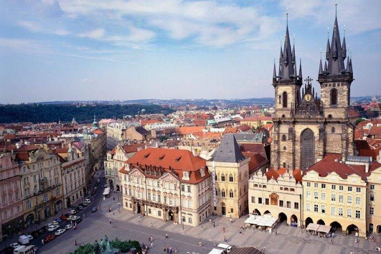 مباني وارسو بولندا