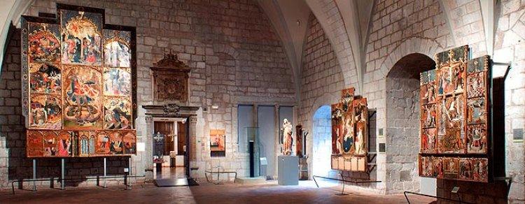 متحف الفن في جيرونا اسبانيا