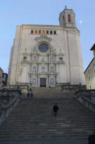 الكاتدرائية في جيرونا اسبانيا