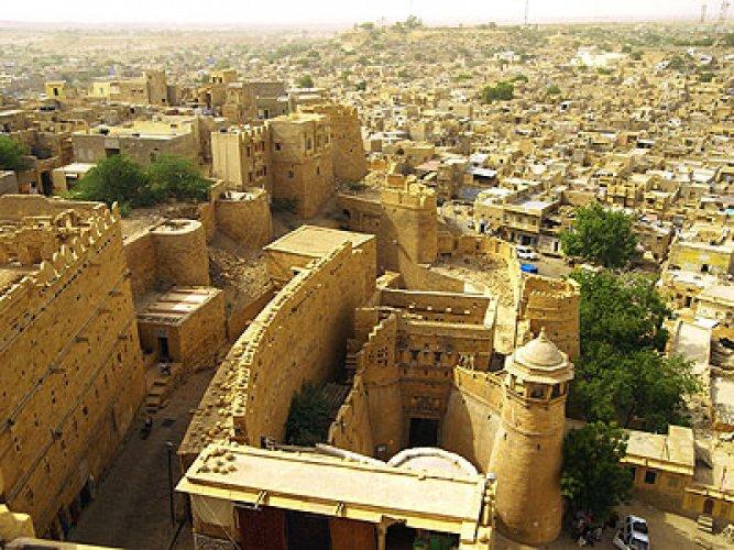 قلعة جايسالمر في الهند