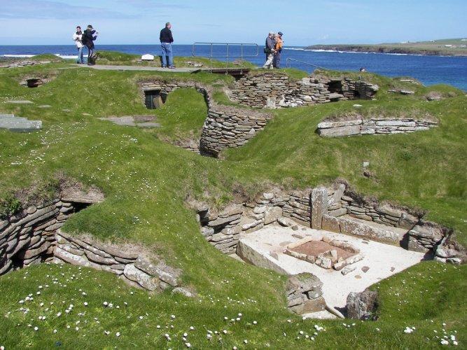 قلب العصر الحجري الحديث أوركني في اسكتلندا