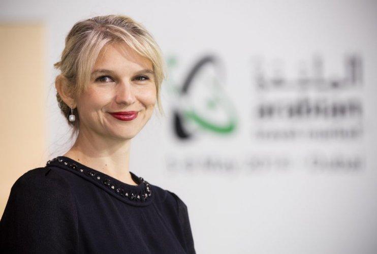 ناديج نوبلت سيغرز مديرة معرض سوق السفر العربي