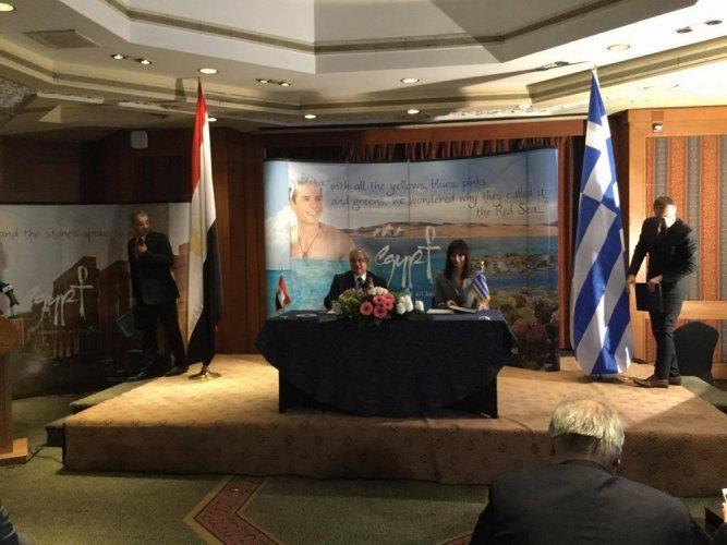 وزيرة السياحة اليونانية تزو القاهرة