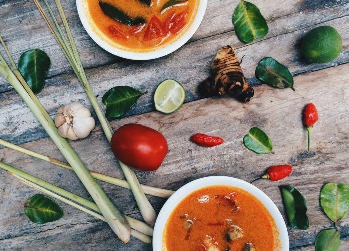 مأكولات في تايلاند