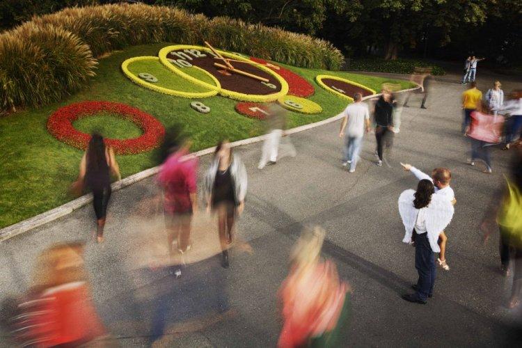 Flower Clock, Geneva's