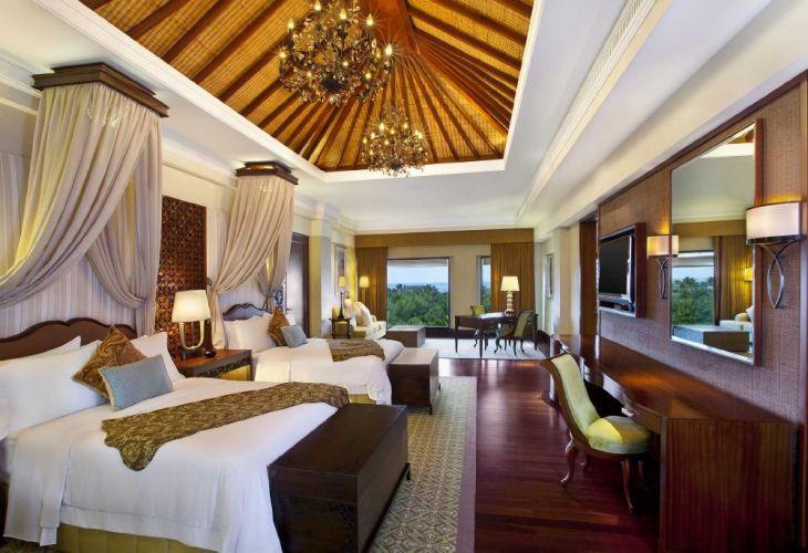 The St. Regis Bali Grande Astor Suite Twin Bedroom