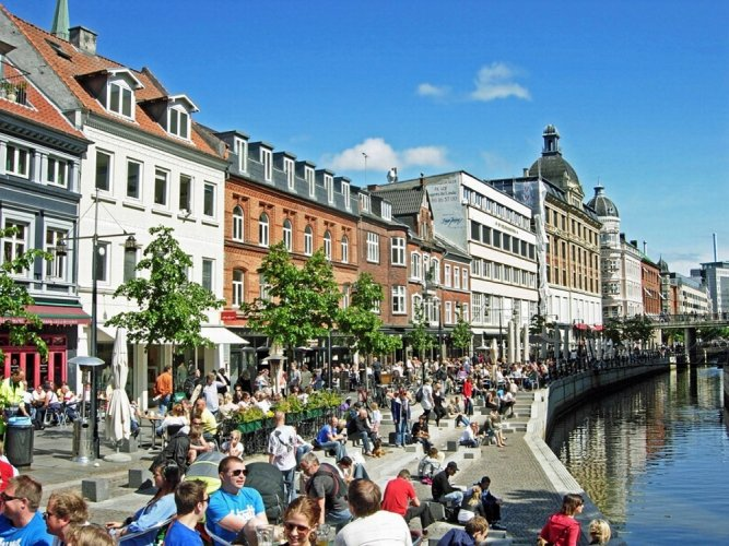 مدينة آرهوس الدنماركية