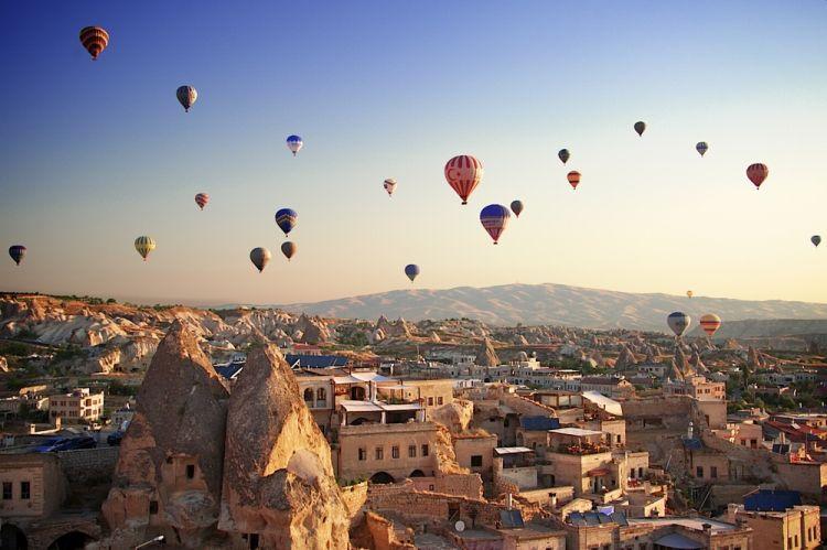 كابادوكيا، في تركيا