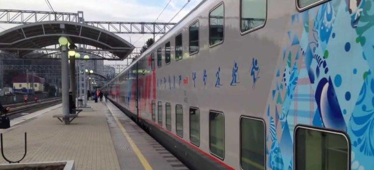 قطار سياحي بين موسكو وسوتشي