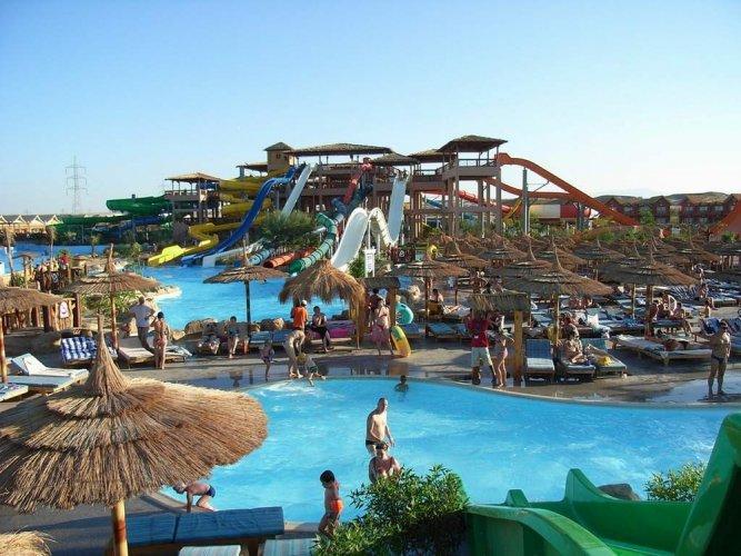 حديقةاكوا بلو ووتر المائية في شرم الشيخ