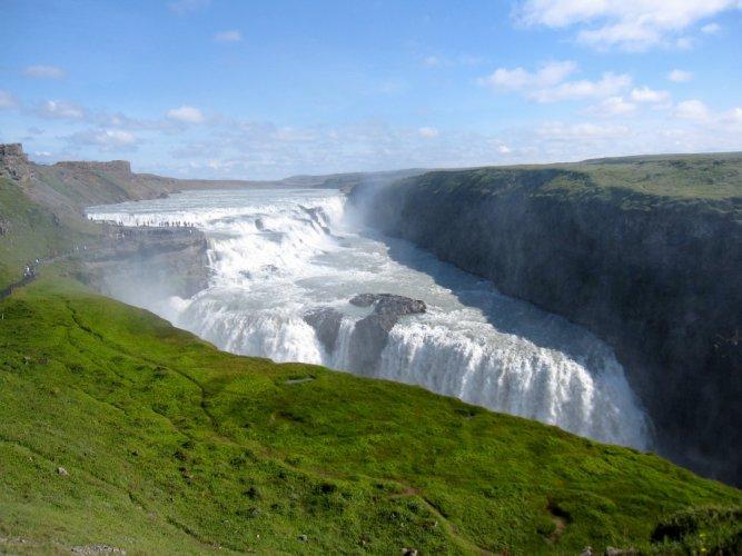 شلال جولفوس، أيسلندا