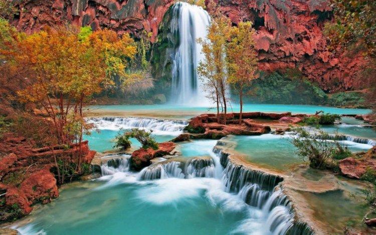 شلالات هافاسو في جراند كانيون، أريزونا