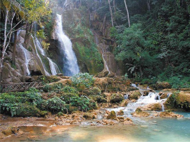 شلالات كوانغ سي، لوانغ برابانغ، لاوس