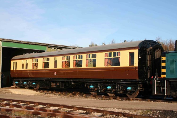 A Great Western Railway Carriage، كورنوال