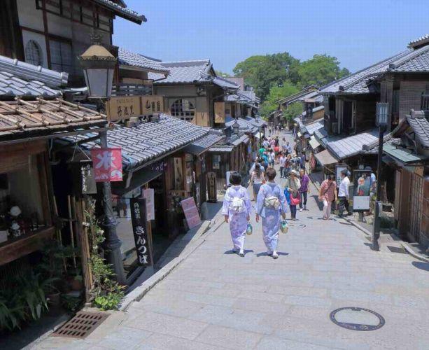 التسوق في مدينة كيوتو