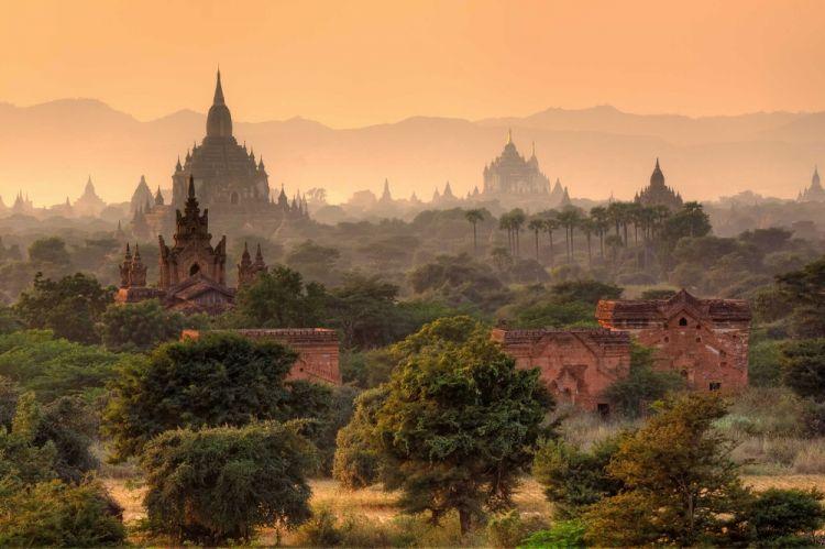 معابد ميانمار